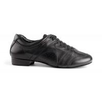heren social schoen Zwart