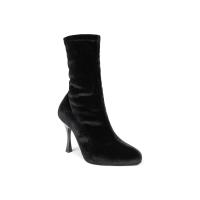Portdance PD Boot 001 Black Velvet zijkant