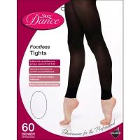 Silky Dance Footless Panty voor Dans Microvezel