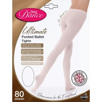 Silky Dance roze Stevige Balletpanty 80 Denier