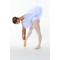 Ballet tutu met short Wit Dansez-Vous Vae