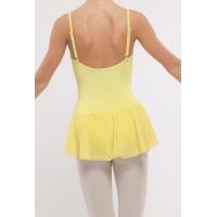 Dansez-Vous dames balletpakje Luna geel rug