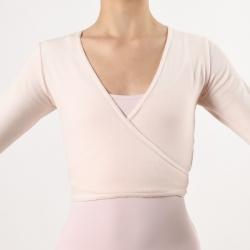 Dansez-Vous Fluffy Roze Balletvestje voor Dames en Meisjes