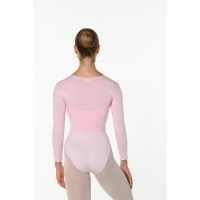 Dansez-vous roze wikkelvestje zonder strik Warmy