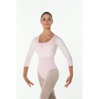Fluweel balletvestje roze voor dames en kinderen Fluffy