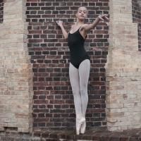 Dansez-Vous Footed Balletpanty E100