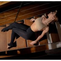 Dansez-Vous P101 zwarte convertible panty voor kinderen