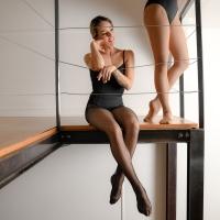 Dansez-Vous R104 professionele fishnet voor ballet