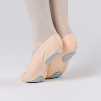 Dansez-Vous balletschoenen van canvas met splitzool