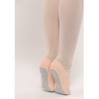 Dansez-Vous balletschoenen Lili voor kinderen met elastieken en doorlopende zool