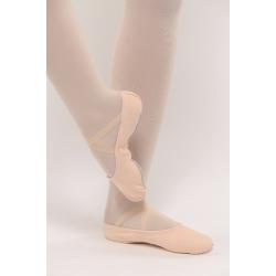 Dansez-Vous Lili canvas balletschoenen met Doorlopende Zool voor volwassenen