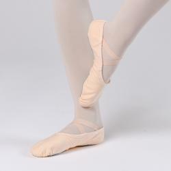 Dansez-Vous canvas balletschoen met splitzool voor kinderen