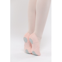 Dansez-Vous Vanie Elastische balletschoenen Roze met Splitzool